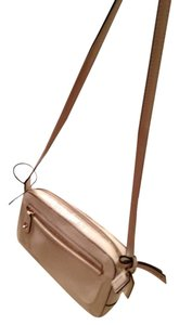 Coach Patent Leather Gold Hardware Cross Body Bag