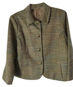 Sigrid Olsen Warm Attractive Colorful Fully Lined MULTI Blazer