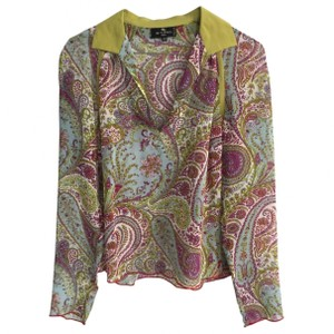 Etro Paisley Top Multi