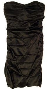 Express Cocktail Formal Short Black Holiday Black Party Dress