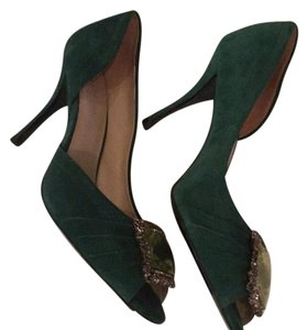 Elie Tahari Emerald Green Pumps