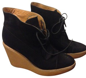 Stella McCartney Platform Ankle Boots black Wedges