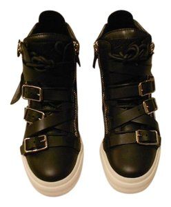 Giuseppe Zanotti Sophisticated Design Women's Sneaker Made In Italy Nero Athletic