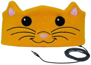 CozyPhones Cozyphones Kids KITTY CAT Headphones - Christmas Gift