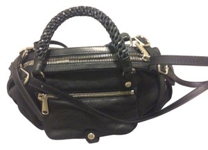 Joy Gryson Leather Satchel in Black