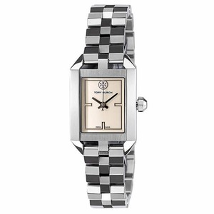 Tory Burch Tory Burch Swiss Dalloway Stainless Steel Bracelet Watch TRB1101