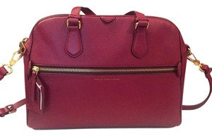 Marc by Marc Jacobs Globetrotter Calamity Leather Satchel in Merlot
