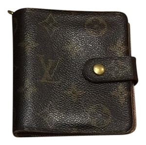 Louis Vuitton Wallet Bifold Coin Card MI0969 With Box & Booklet