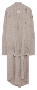 Zadig & Voltaire Wool Distressed Warm Cardigan