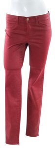J Brand Red Cropped Capris Capri/Cropped Pants