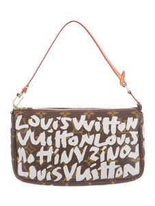 Louis Vuitton Lv Graffiti Pochette Baguette