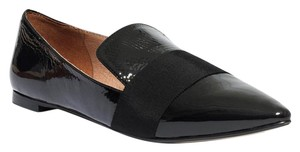 Madewell Loafer Black Patent Leather Moccasins Flats