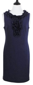 Trina Turk Sheath Sleeveless Ponte Knit Dress