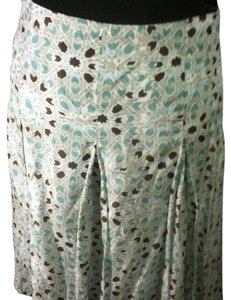 Banana Republic Skirt White, blue, and brown