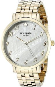 Kate Spade Women's 1YRU0847 Monterey Analog Display Japanese Quartz Gold Watch