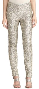 Ralph Lauren Sequin Legging Holiday Silver Sequins Leggings