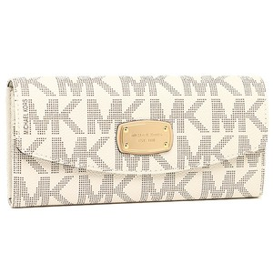 Michael Kors New with Tags Michael Kors Jet Set Slim Flap Wallet Vanilla Color