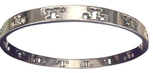 Tory Burch Authentic Tory Burch Bangle Bracelet Rare In Silver