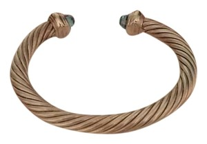 David Yurman David Yurman Blue Topaz Cable Bracelet