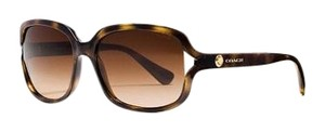 Coach Rivet Square Dark Tortoise Sunglasses
