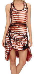 Jean-Paul Gaultier short dress rosso on Tradesy