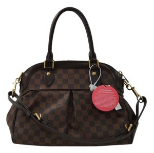 Louis Vuitton Trevi Pm Damier Ebene Canvas Handbag Shoulder Bag