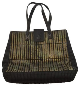 Hogan Tote in Bronze And Black