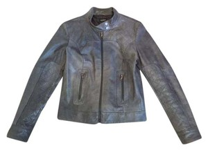 Motivi Leather Italian Quilted Motorcycle Jacket