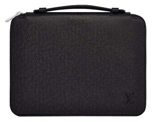 Louis Vuitton Ipad Tablet Case Designer Case Lv Handbag Black Clutch