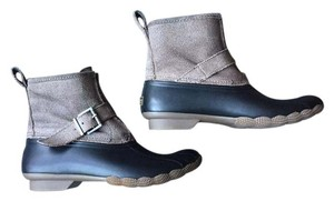 Sperry Grey/Black Boots