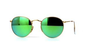 Ray-Ban RB 3447 112/P9 - Green POLARIZED Ray Ban Round Sunglasses