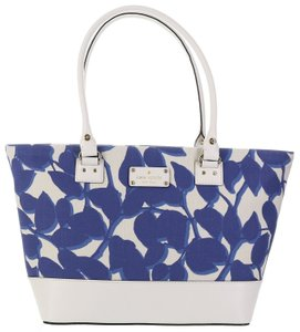 Kate Spade Fabric/leather Small Harmony Wkru3713 Tote in Hycnleaves