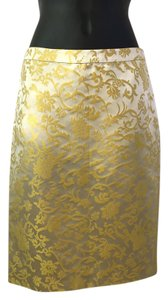 Banana Republic Skirt gold, yellow