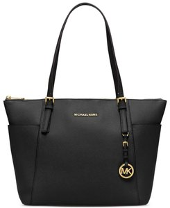 Michael Kors 30f4gttt9l Jet Set Item Mk Leather Tote