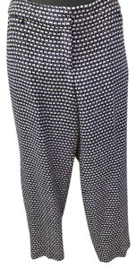 J.Crew Straight Pants purple, black, cream, gold