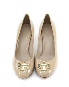 Tory Burch Patent Leather NUDE Pumps