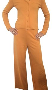 Sonia Rykiel Wide Leg Pants Orange