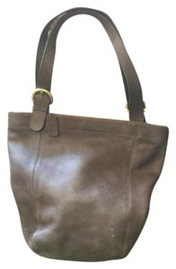 Coach Legacy Vintage Hobo Tote in brown