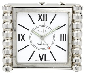 Tiffany & Co. Tiffany & Co. Paloma Picasso Groove Quartz Alarm Travel Clock