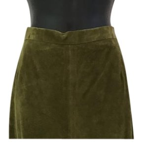 Terry Lewis Wide Leg Pants Olive