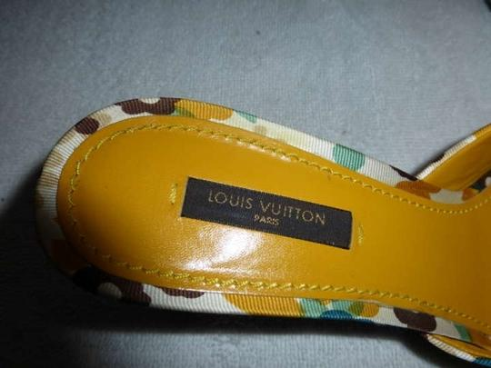 Louis Vuitton Multi-color Sandals
