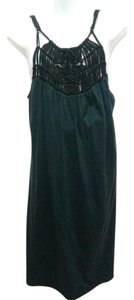 Michael Stars short dress black Macrame Sleeveless Bohemian on Tradesy