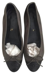 Chanel Black/Copper Flats