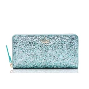 Kate Spade 'Glitter Bug' Lacey Zip Around Wallet