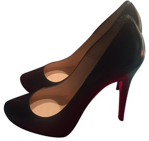 Brand New Louboutin Rolando, 38.5...purchased these and didnt realize they run small. Would likely fit 7.6-8, I am 8.5 and they are snug. Pumps