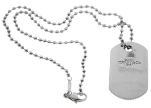 Tiffany & Co. Tiffany& Co. 2003 Dog Tag Chain Necklace- Sterling Silver