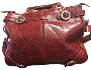 Latico Satchel in Red