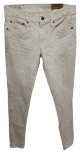 Polo Ralph Lauren Painted Paint Sea P 14 Paint Splattered Brand New Skinny Jeans-Light Wash