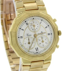 Baume & Mercier Baume Mercier Riviera LE 18k Gold Chronograph Watch MV045039