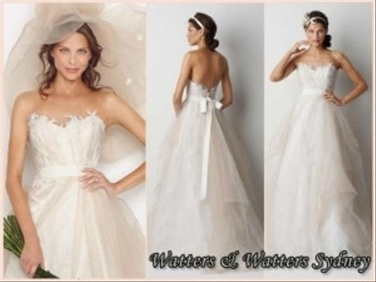 Watters sydney wedding dress tradesy for Wedding dress resale st louis